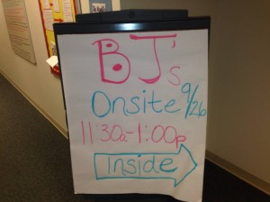 BJs visits company in RTP