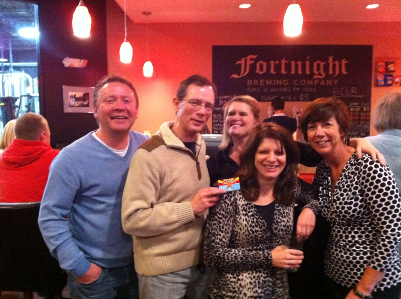 FOCM at Fortnight Brewing Company
