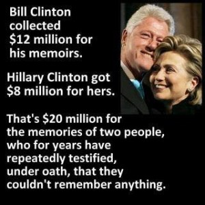 Clinton Irony