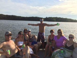FOCM Raleigh Chapter on Jordan Lake